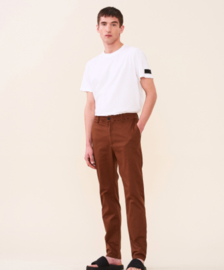 Elvine || CRIMSON trousers: camel brown
