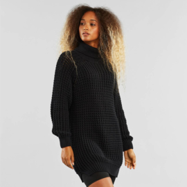 Dedicated || OSLO sweater tunic knit cotton tencel: black