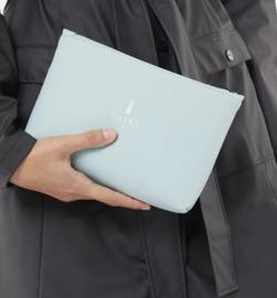 Rains    COSMETIC bag: dusty mint