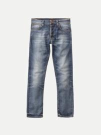 Nudie Jeans    GRIM TIM jeans: worn in broken