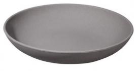 Zuperzozial deep bite plate grey 1400197