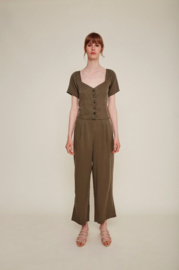 Rita Row || CHIARA blouse tencel: khaki