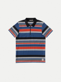 Nudie Jeans || MIKAEL polo tricolour: multi