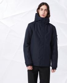Elvine || BARNARD coat: dark navy