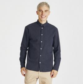 Stoffbruch || KENT shirt: midnight blue
