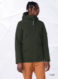 Elvine || COLE coat: green khaki