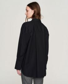 Elvine || ARDEN blouse: black