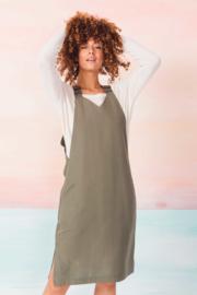 SKFK || MALEN dress: military green