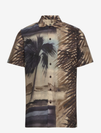 Bertoni || JIM shirt:  cinnamon - ALLEEN NOG MT 38/ S