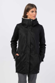 SKFK || OSMA coat cotton: black