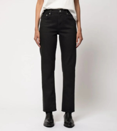 Nudie Jeans || STRAIGHT SALLY: ever black
