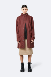 Rains || LONG jacket: maroon