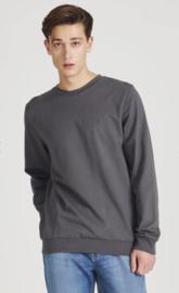 GIVN    CANTON sweater: shadow grey