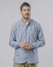 Brava || SAPPORO essential shirt: blue white