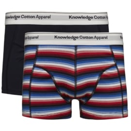 KCA || UNDERWEAR organic 2pack: double striped