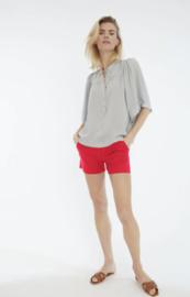 Bellamy Gallery || DAISY shorts: OxBlood Red