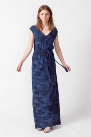 SKFK || JARE dress print: navy