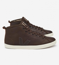 Veja ; TAUA Mid Relax Leather Fured Malt Cafe Pierre