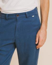 Thinking Mu    MARCELINO hemp pants: blue
