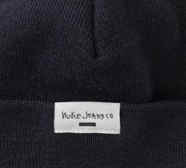 Nudie Jeans    JANSSON beanie recycled: navy