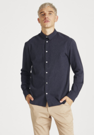 Stoffbruch || KENT shirt: midnight blue
