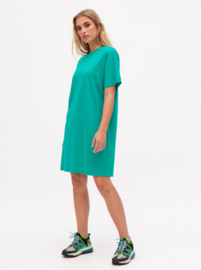 Nathalie Vleeschouwer || SERINE dress jersey: green