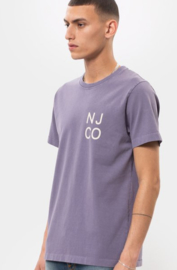 Nudie Jeans || ROY njco t-shirt: lilac