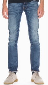 Nudie Jeans || GRIM TIM jeans: dark crispy worn