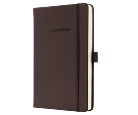 Conceptum || NOTEBOOK hardcover lined: brown