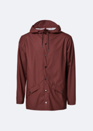 Rains || JACKET: maroon
