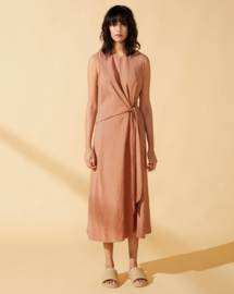 Elvine || JUSSIE dress: Mocha Mousse