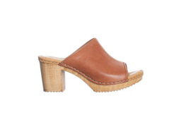 Ten Points || AMELIA vegetable tanned leather: cognac