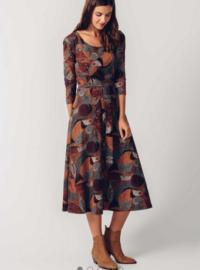 SKFK || ESPE dress: red print