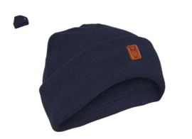KCA || beanie organic wool: dark denim