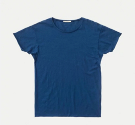 Nudie Jeans || ROGER slub tshirt: blue