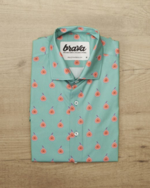 Brava Fabrics    FIG DREAMS shirt: green