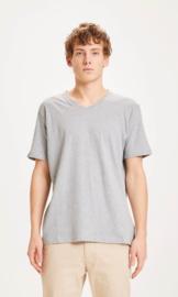KCA || ALDER basic v-neck: grey melange