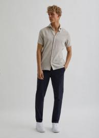 Bertoni || BART linen shirt SS: Tan
