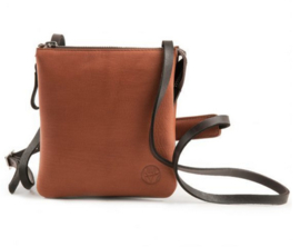 Harold's CHAZA cross-over bag small - cognac 300125