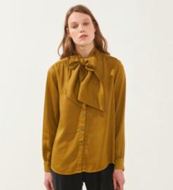Cus || JUNO tencel blouse: caramel