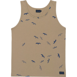 Tanktop SEABIRDS; Tobacco