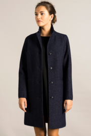 LangerChen || CLASSIC coat: denim