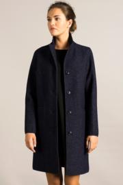 LangerChen || CLASSIC coat: denim