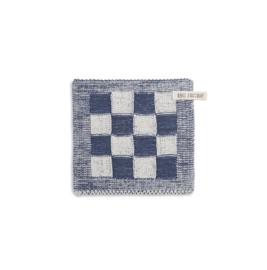 Knit factory || pannenlap: ecru jeans
