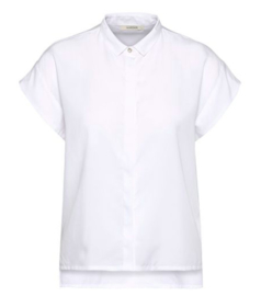 Wunderwerk || Tencel square blouse: white