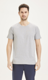 KCA || ALDER basic Oneck: grey melange