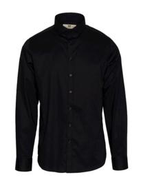 Bertoni || HJALMAR shirt uni: jet black