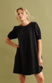 Thinking Mu II FLORETA Dress: black