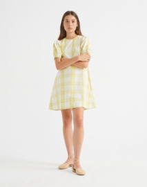 Thinking Mu || FLORETA dress: Checks