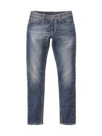 Nudie Jeans || SKINNY LIN  jeans: dark double indigo